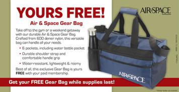 Air & Space Gear Bag