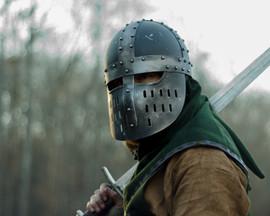 Helmed Warrior