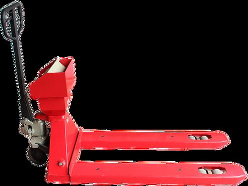 Patín Hidráulico de Báscula con Impresora
