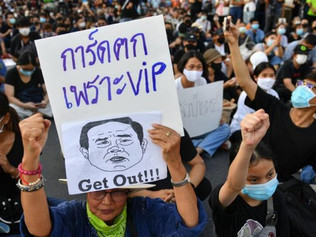Thai demonstrators call for Prayuth's government to resign