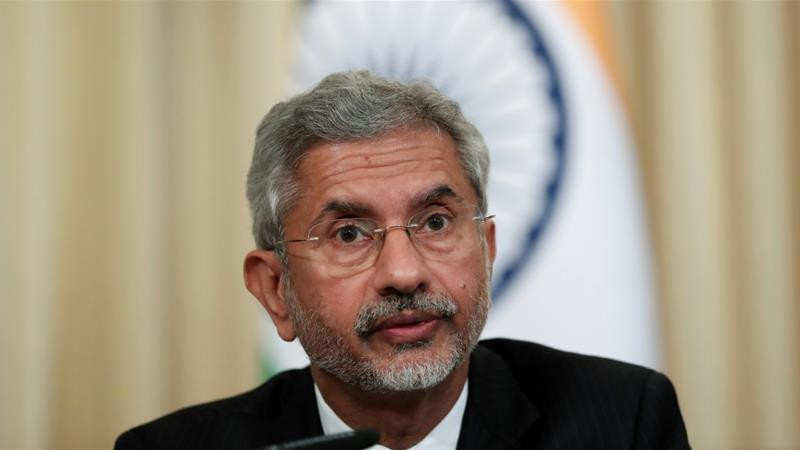 Foreign Minister Jaishankar said India would not accept foreign interference or judgement on matters related to its sovereignty [File: Evgenia Novozhenina/Reuters]