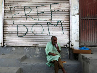 Activists call for 'global spotlight' on plight of Kashmiris
