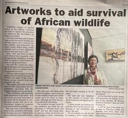Art for Survival solo exhibition