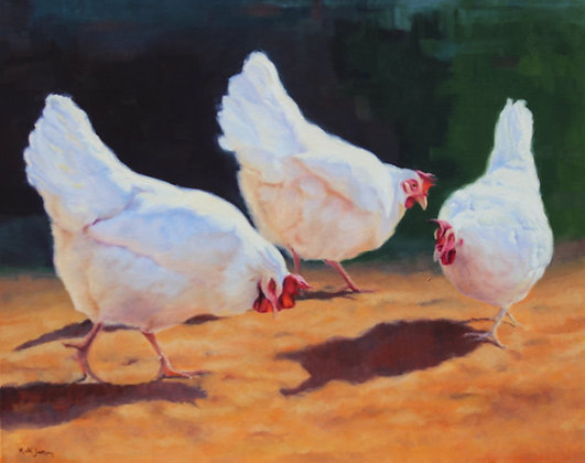 'Snack Time'- Available at Art Gallery on Ovens