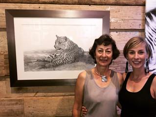 Leopard finds a home in Africa