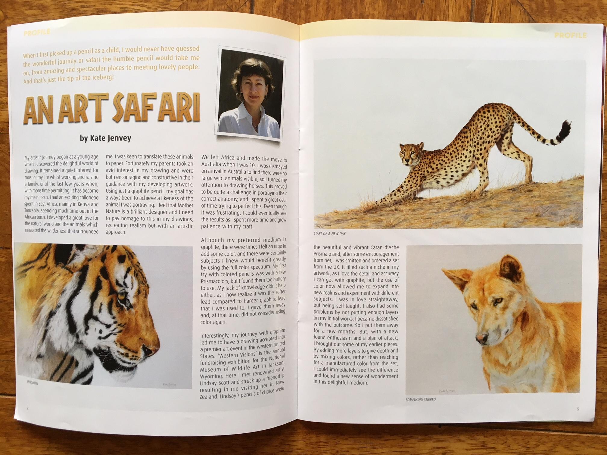 Ann Kullberg's Color Pencil Magazine