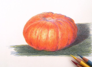 Colour Theory with colour pencils