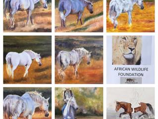 Horses-Oil painting workshop