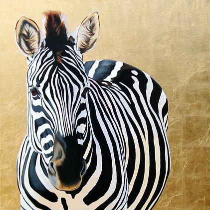 'Gold 'n' Zebra'