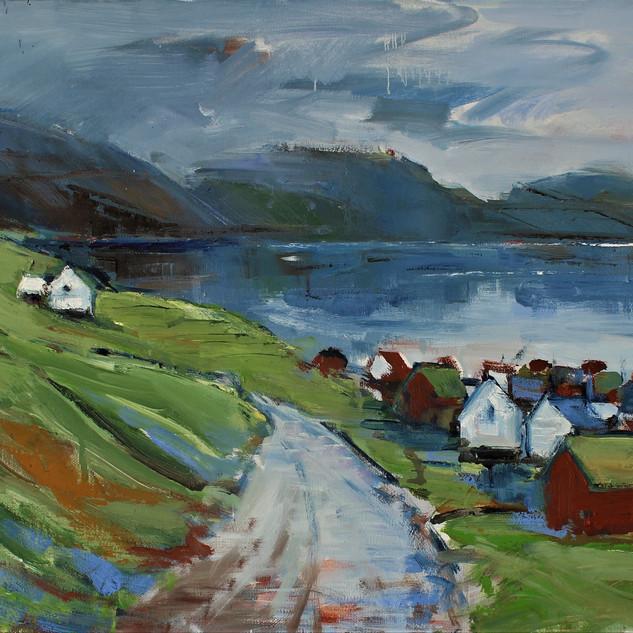 Bygd ved fjorden