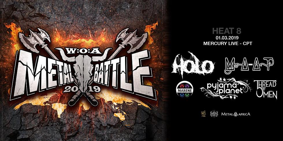 Wacken Metal Battle - Mercury Live Cape Town