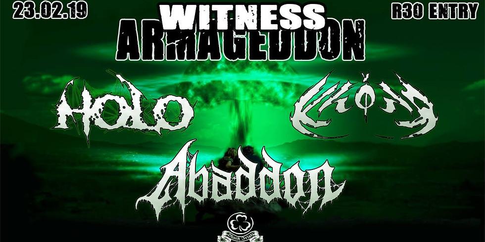 Witness Armageddon