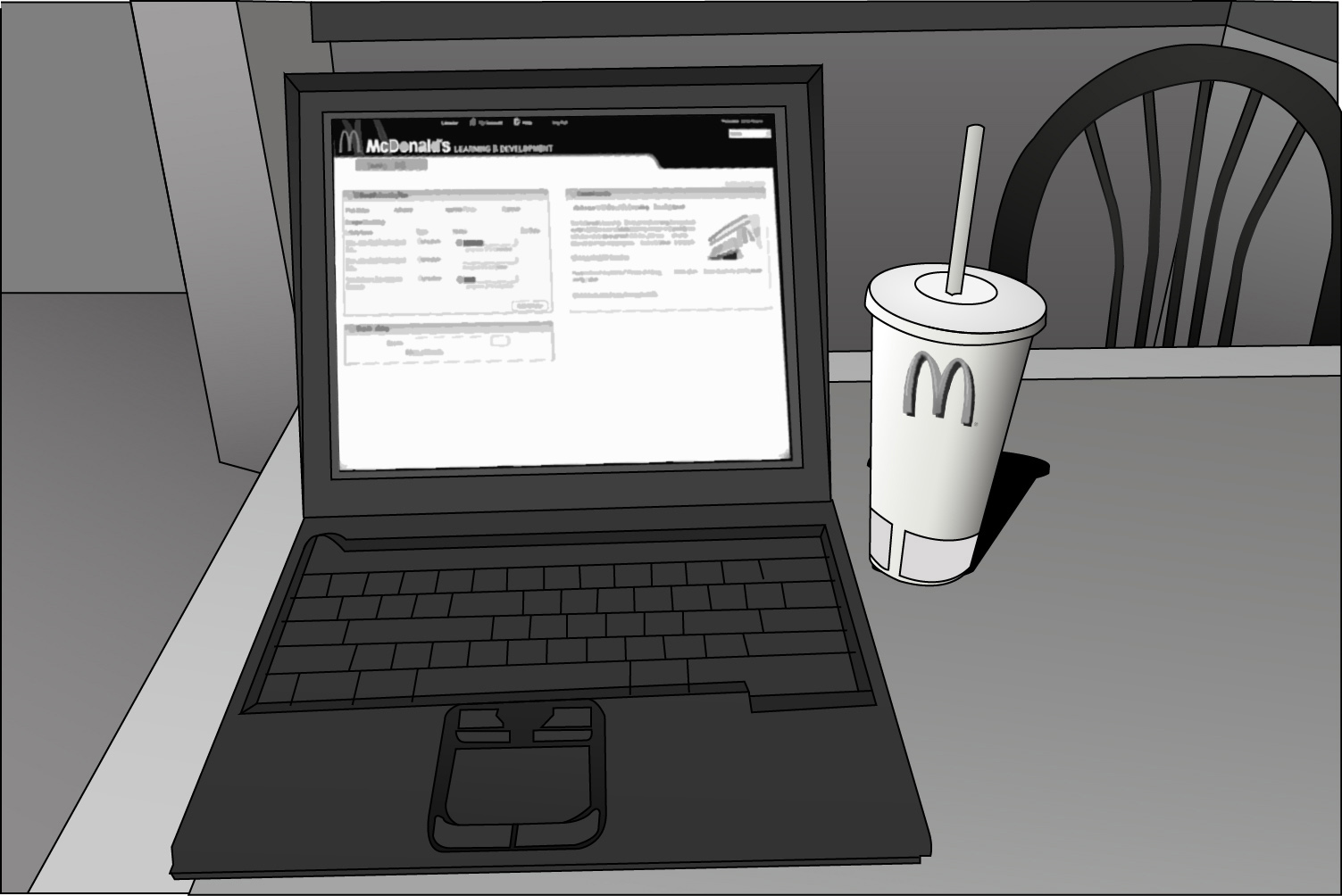 Lobby Laptop