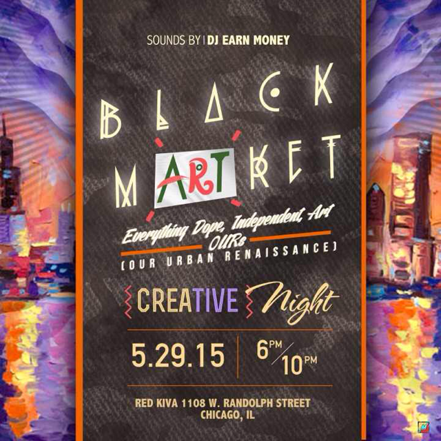 Black Market Creative Night at Red K