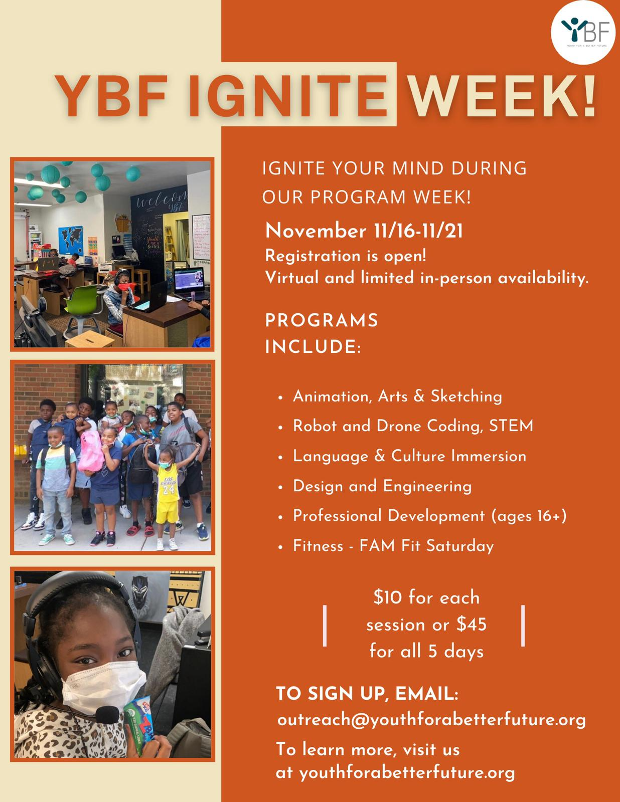 YBF Ignite Week