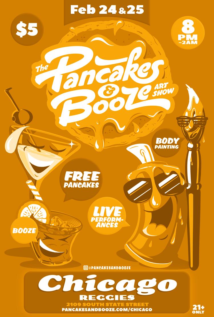 Pancakes & Booze