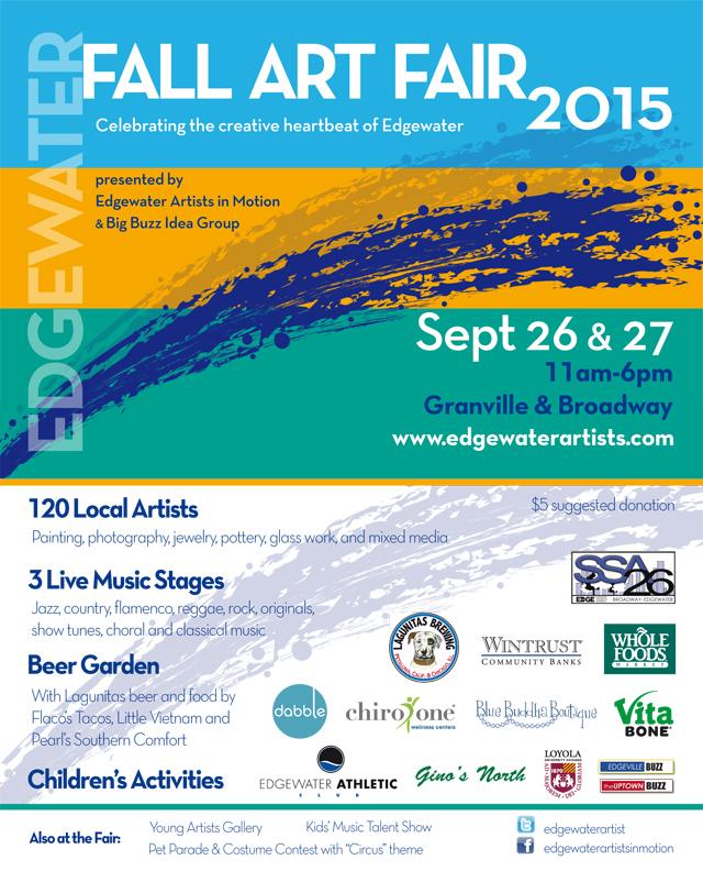 Edgewater Arts Festival 2015