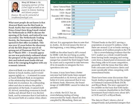 Summer of GCC bank mergers- A look at Saudi Arabia