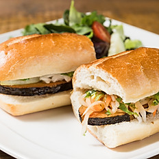 "B8. Grilled ""Fish"" Banh Mi"