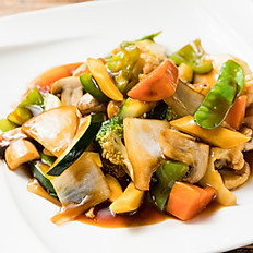 C10. Sauteed Mixed Vegetables