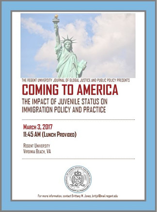 Coming to America: The Impact of Juvenile Status on Immigration Policy and Procedure