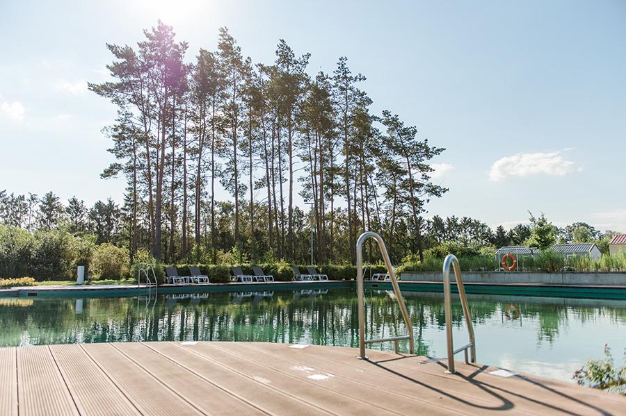Badespaß, Badeurlaub in der Natur