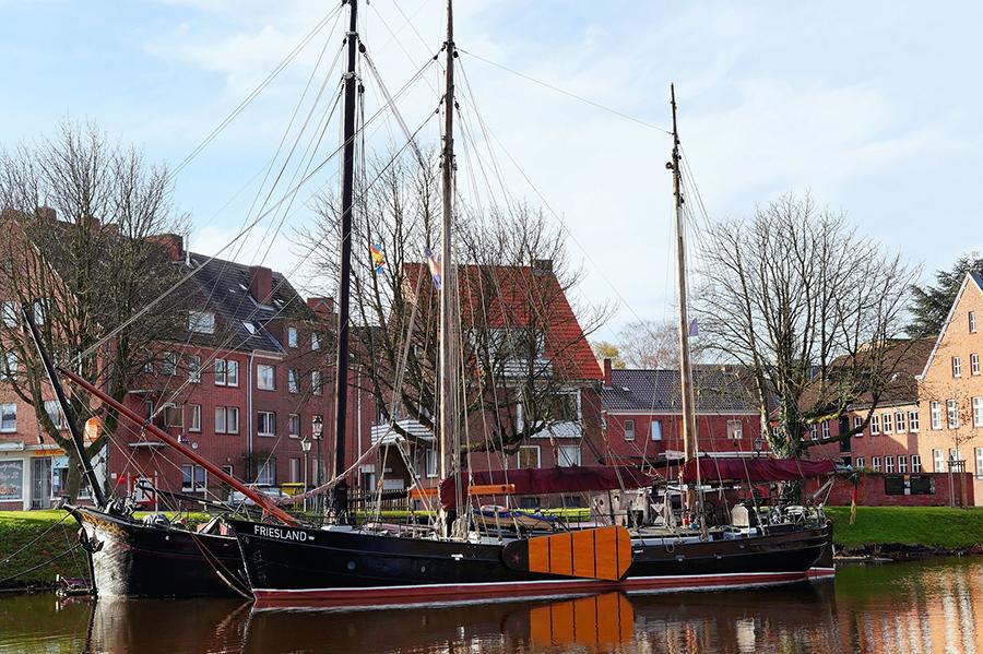 Emden, Bootsfahrt