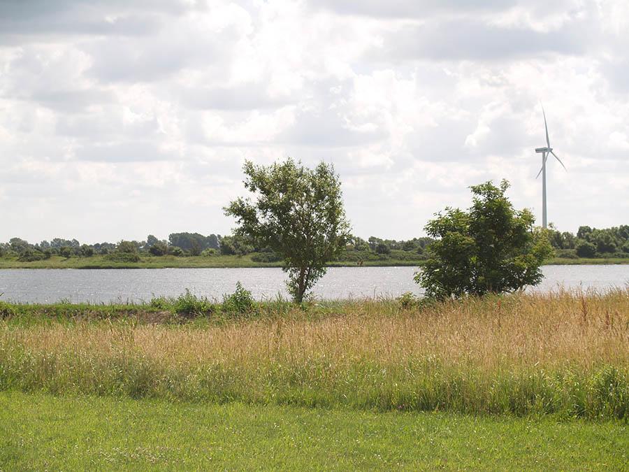 Nordsee, Windkraft, Campingplatz, Nordseecamping zum Seehund