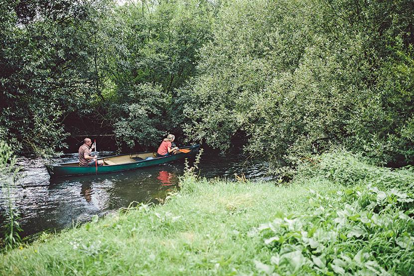 Kanutour auf der Örtze