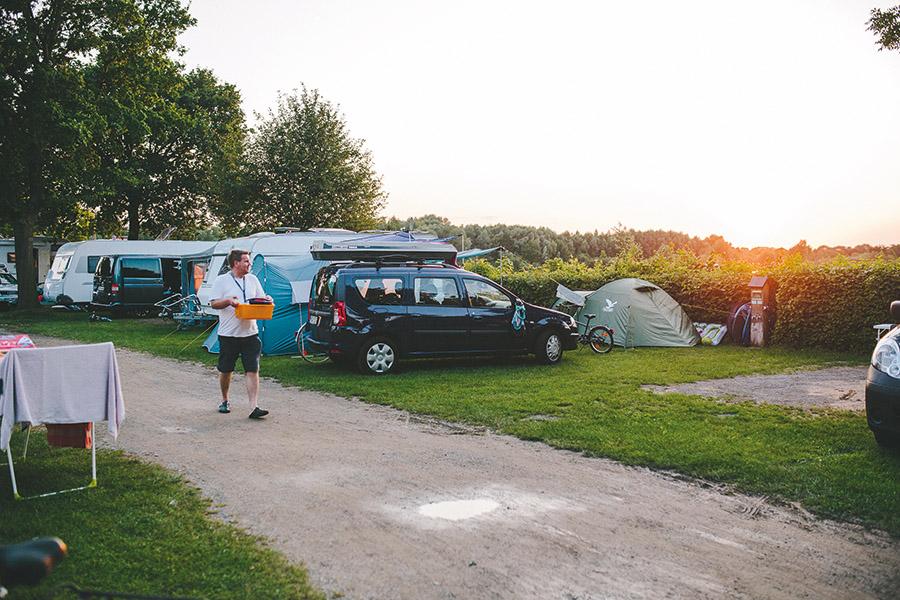 Stellplätze Campingpark Kalletal