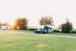 Stellplätze Camping am Deich