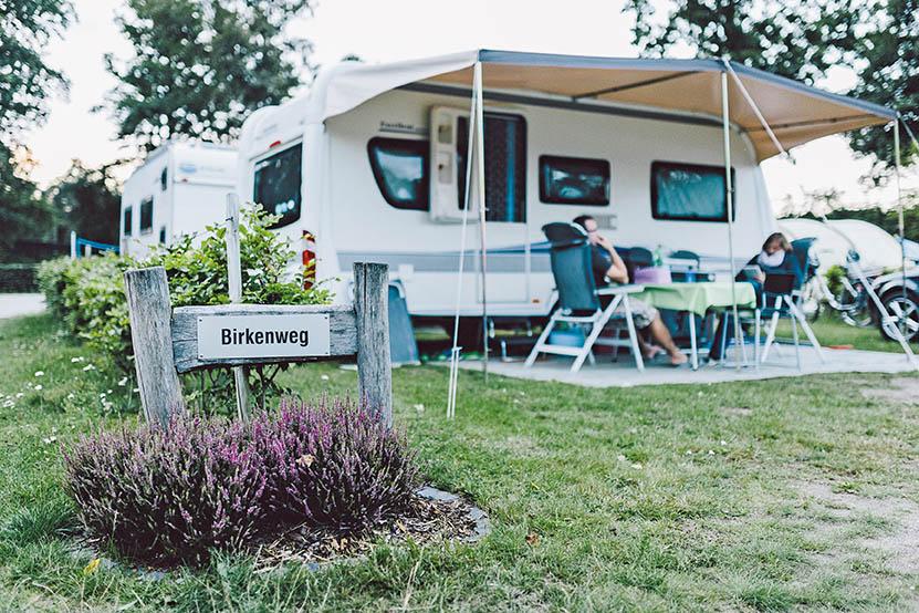 Stellplatz, Stellflächen Campingpark Südheide