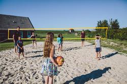 Beach-Volleyball Nordseecamping zum Seehund