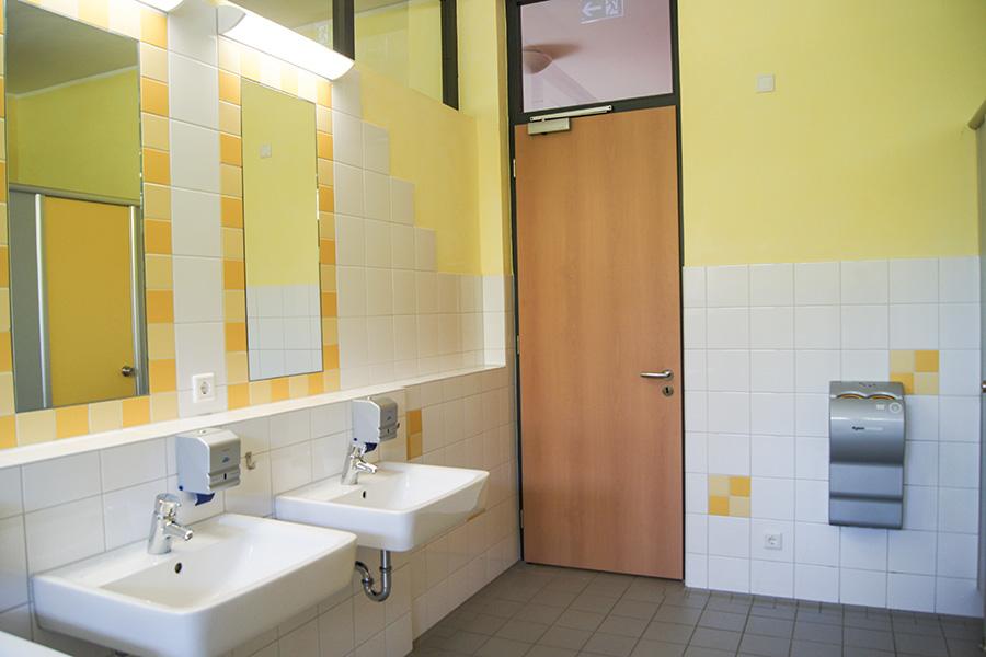 Sanitäranlagen Duschhaus