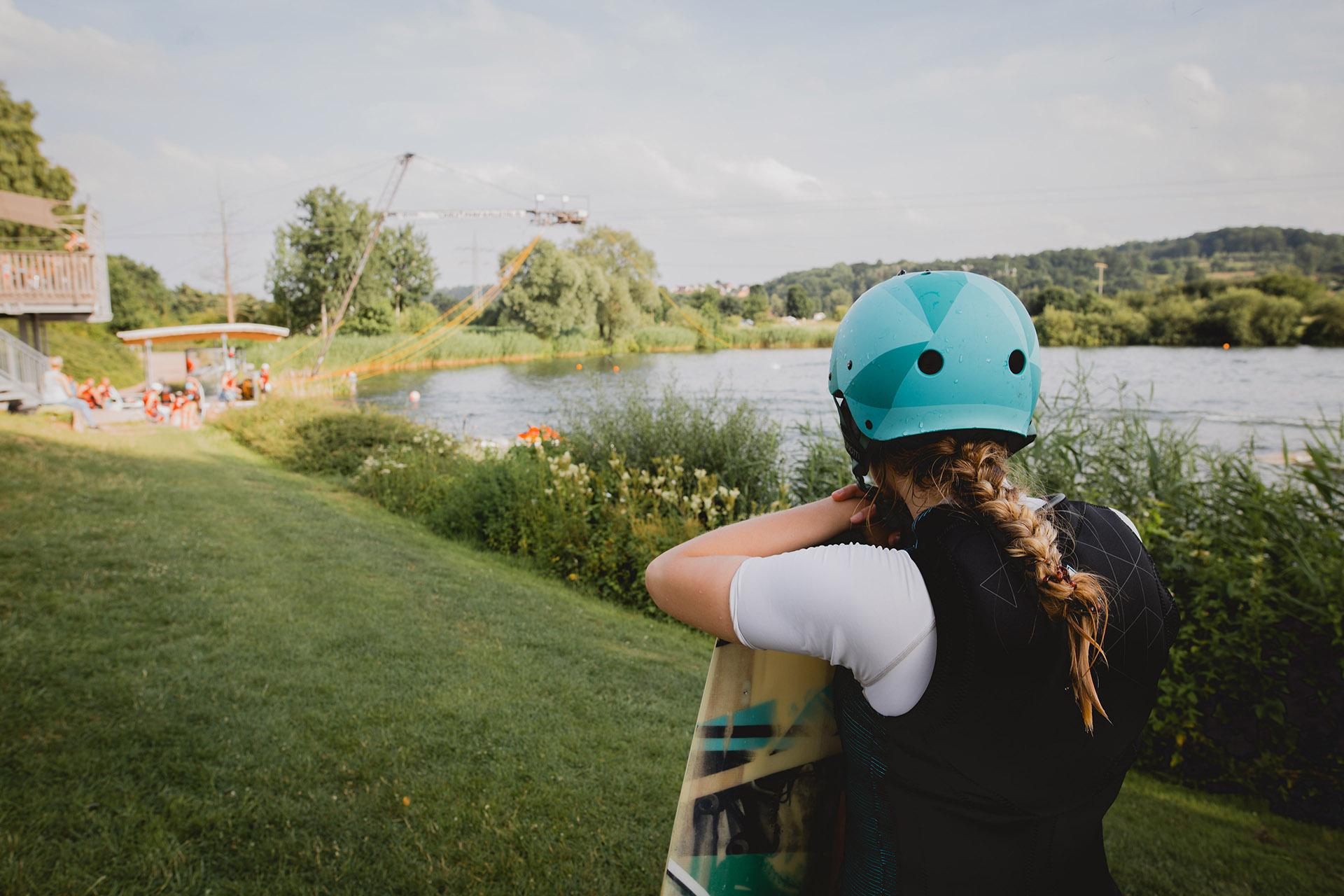 Schlosssee, Wasserski-Anlage