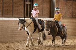 Reitstunde für Kinder, Campingpark Südheide