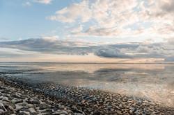 Wattenmeer, Sonnenuntergang