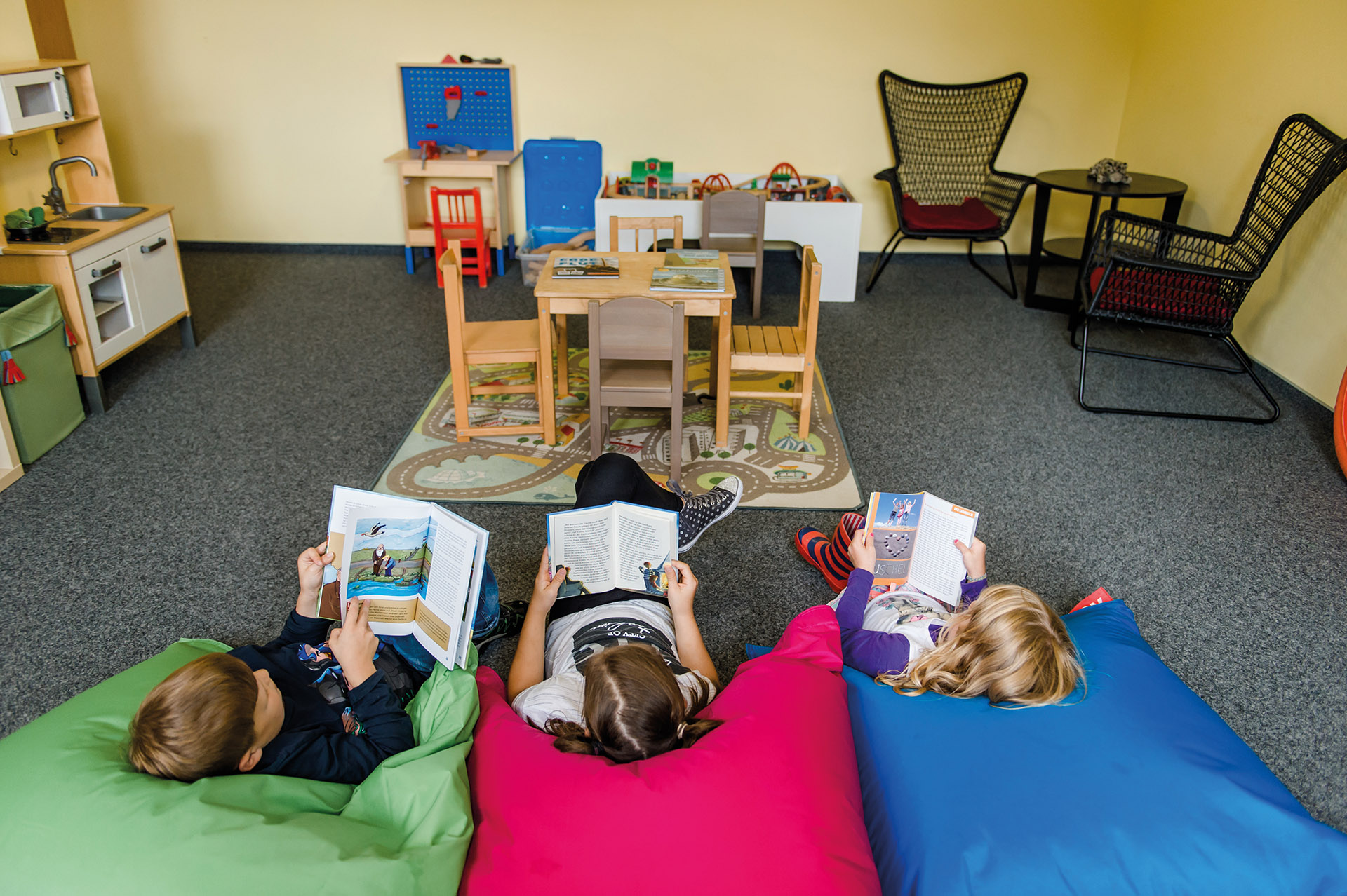 Kinderanimation, Spielzimmer