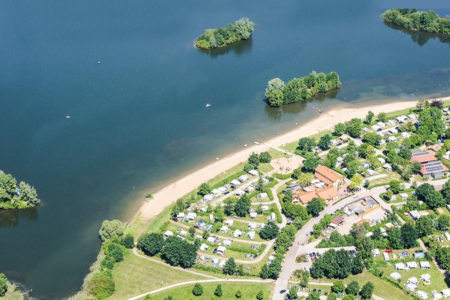 Luftaufnahme Campingpark Kalletal