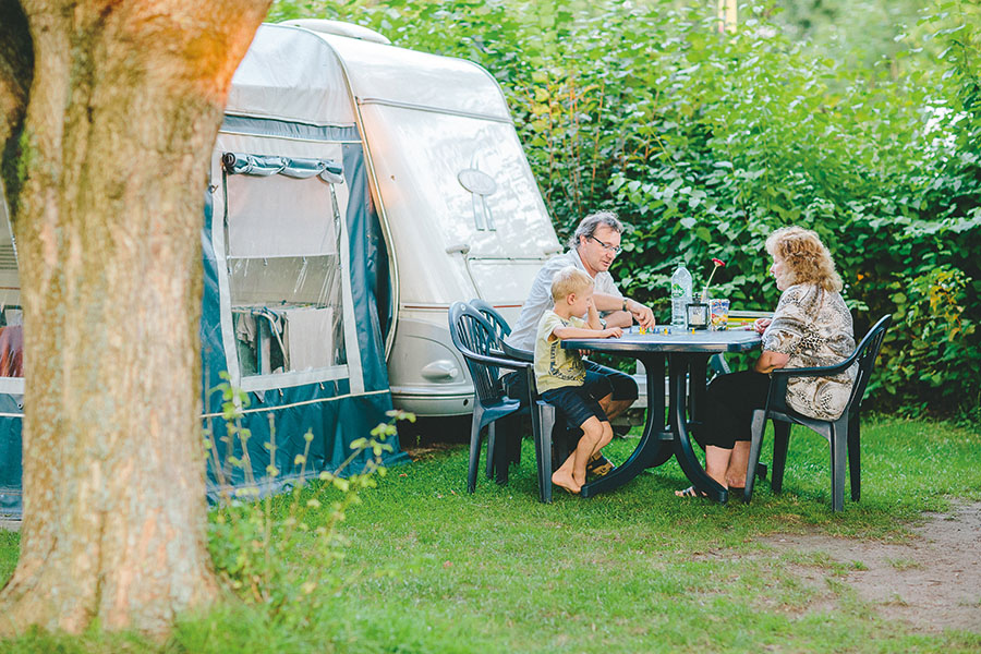 Familien-Camping