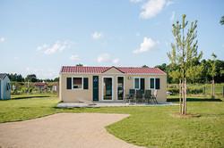 Chalets, kleine Ferienhäuser Campingpark Südheide