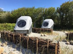 Strandkorbklassiker an der Nordseeküste