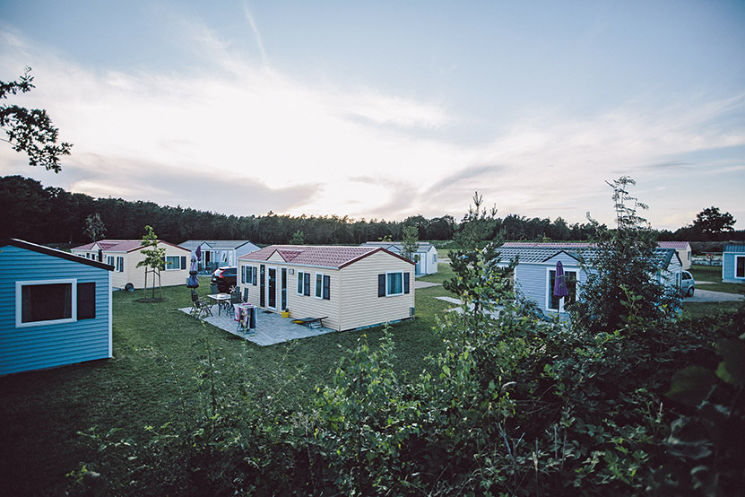 Chalets, Ferienhäuser, Wohlfühlcamping