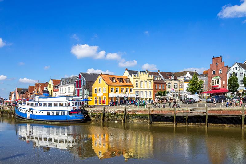 Husum, Hafen, Region entdecken, Nordseecamping zum Seehund, Urlaub in Nordfriesland