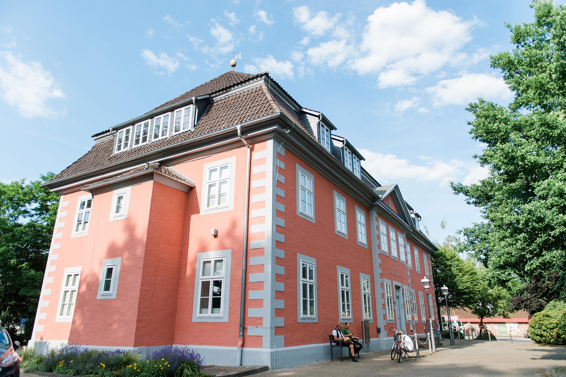 Campingpark Südheide, Ausflüge, Radtour, Winsen Aller, Rathaus