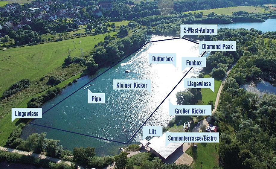 wasserski, anlage, kalletal, wakeboard, weserbergland