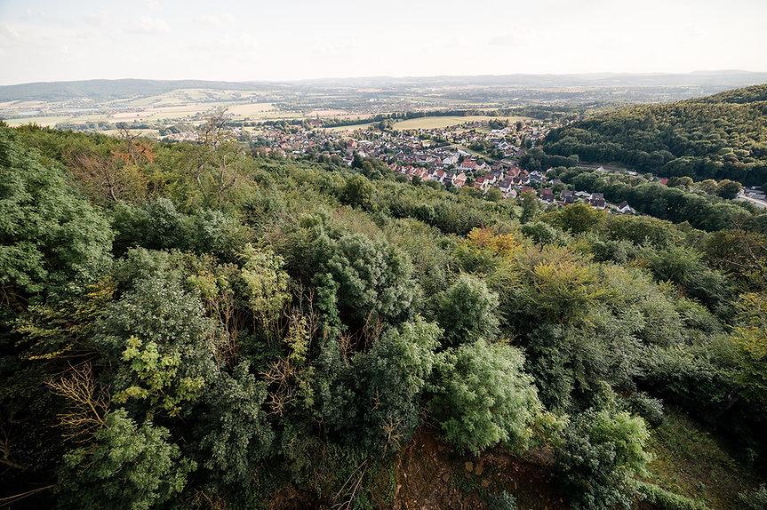 Weserbergland, Campingpark Kalletal, Radwege, Wanderwege