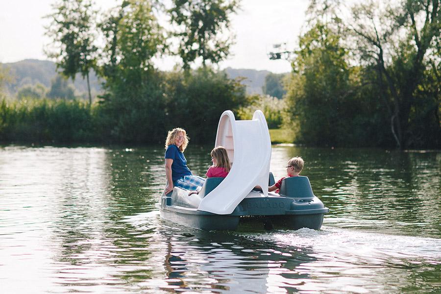 Tretboot auf dem Stemmer See