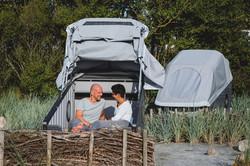 Schlafstrandkorb Nordseecamping