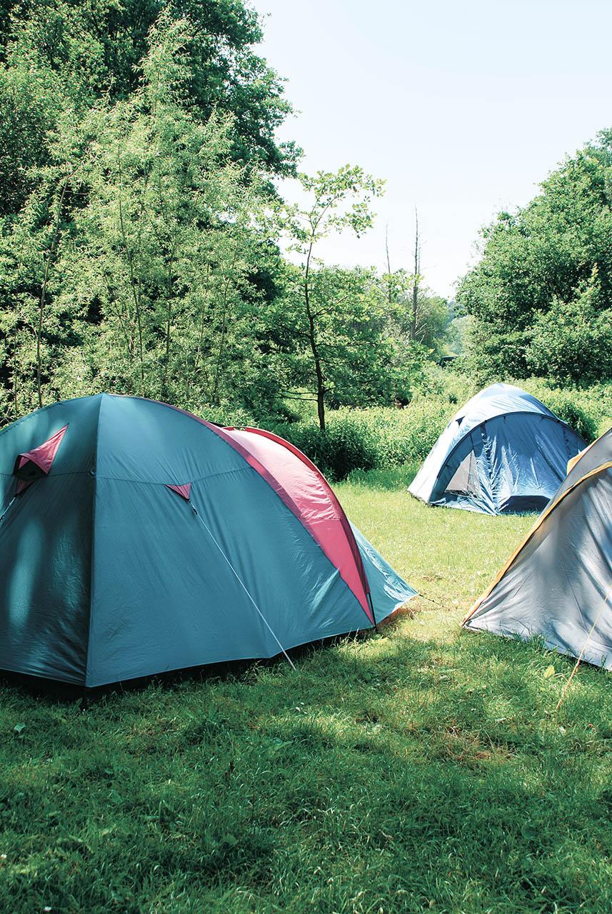 Campingpark Südheide, Zelten, Zeltplatz